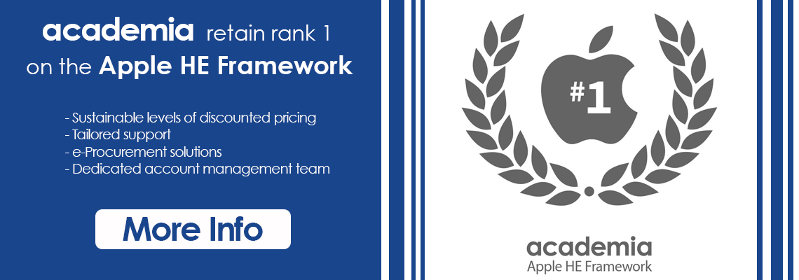 Academia Retain Rank 1 on the Apple HE Framework