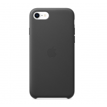 iPhone SE Leather Case Black