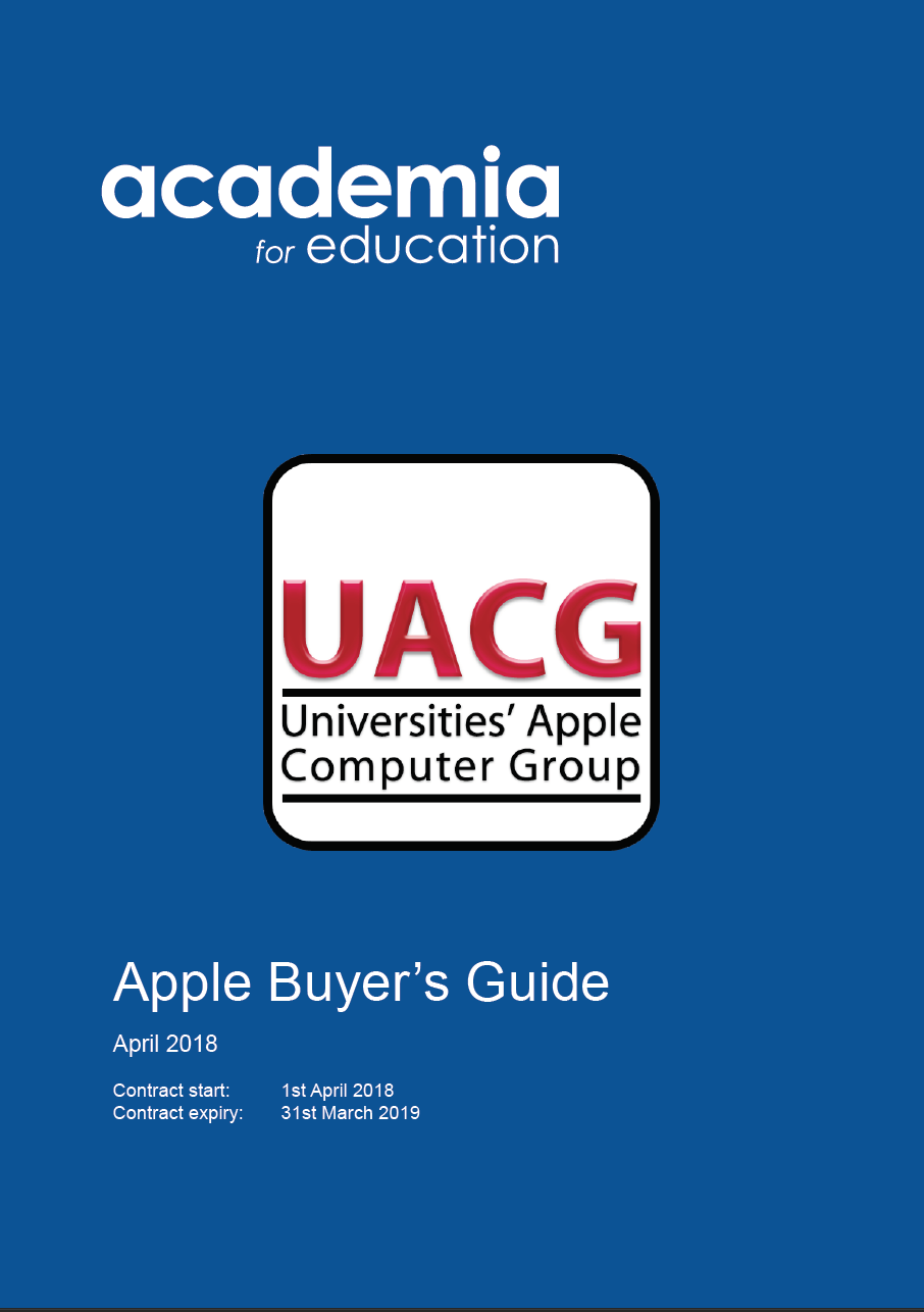 Apple Buyers Guide