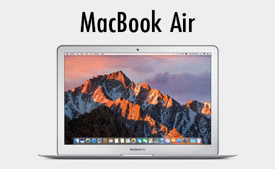 Shop MacBook Air